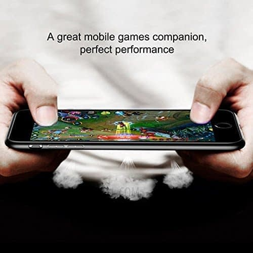 Baseus Paper-Cut Series PC + TPU Light and Thin Feel Anti-Impact Ultra Slim Back Cover Case for Apple iPhone (Apple iPhone X, Black) 7