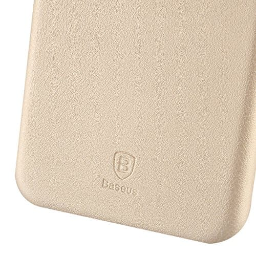 Baseus Super Ultra Thin 1mm PU Leather Finish Back Cover Case for iPhone 6, 4.7-Inch (Gold) 8