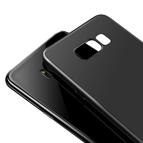 """Baseus Wing Back Case for Samsung Galaxy S8 Plus + (6.2"""") Black - Ultra Thin Back Cover 0.3mm 5"""
