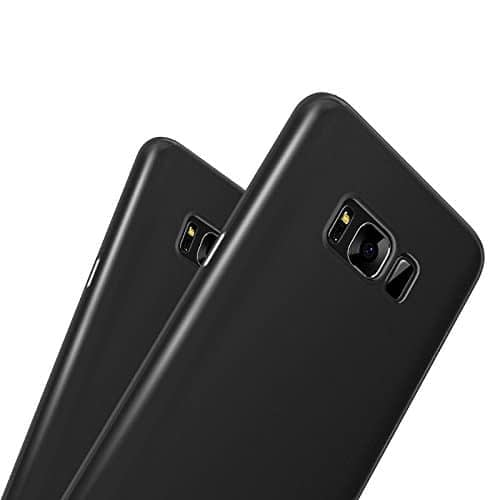 """Baseus Wing Back Case for Samsung Galaxy S8 Plus + (6.2"""") Black - Ultra Thin Back Cover 0.3mm 9"""