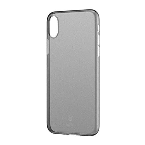 Baseus Wing Case For iPhone X Transparent (Black) 1