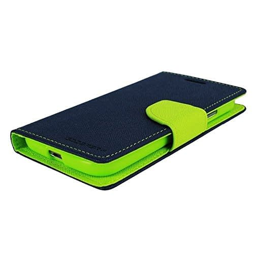 CHL Imported Mercury Fancy Wallet Dairy Flip Case Cover for Micromax A120 Canvas 2 4