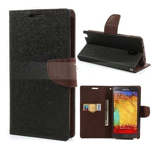 Mercury Goospery Fancy Diary Wallet Case Cover for Galaxy Note 3 Neo 1