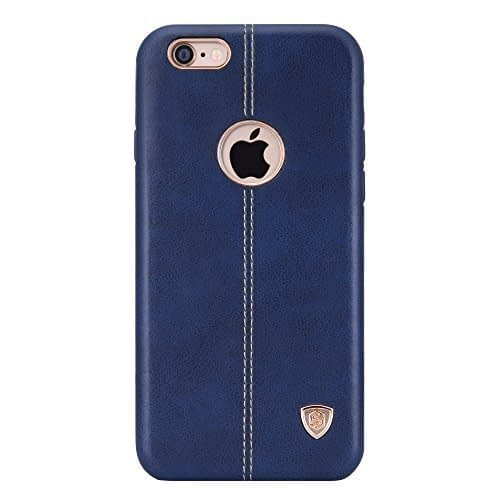 NILLKIN Englon Series Inner Soft Lining Leather Back Cover for Apple iPhone 6 (iPhone 6S) -Blue , Leather cover iphone,Leather Back Cover 1