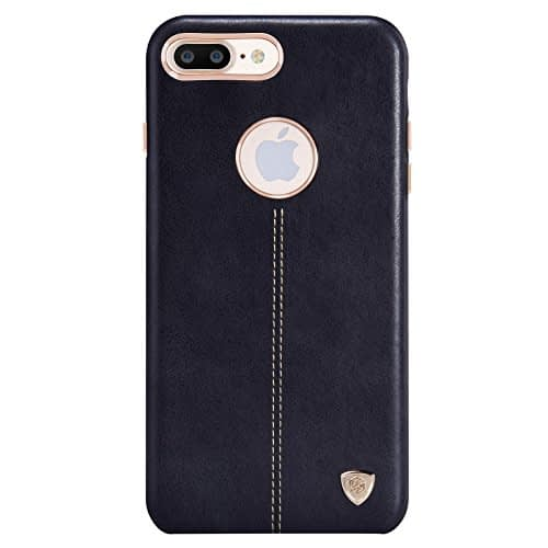 "NILLKIN Englon Series Leather Back Cover Case for Apple iPhone 8 Plus ( 5.5"") 6"