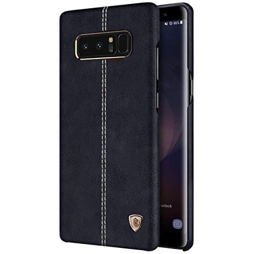 NILLKIN Englon Series Leather Back Cover Case for Samsung Galaxy Note 8 (Black) 1