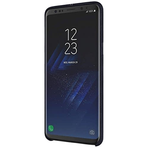 NILLKIN Englon Series Leather Back Cover Case for Samsung Galaxy (Samsung Galaxy Note 9, Black) 5