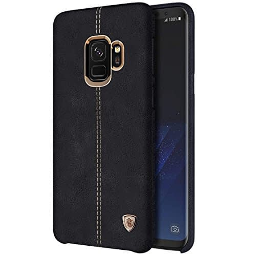 NILLKIN Englon Series Leather Back Cover Case for Samsung Galaxy (Samsung Galaxy Note 9, Black) 1