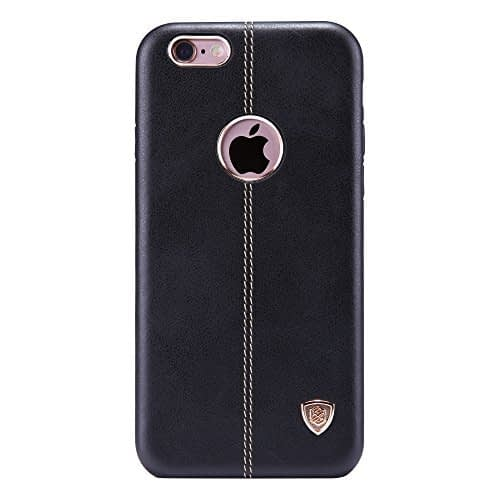 NILLKIN Englon Series Leather Back Cover for Apple iPhone 6 ,iPhone 6S -Black ,iPhone 6S,6 Leather Case,iPhone 6 Back Case 1
