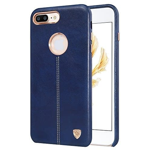 NILLKIN Englon Series Leather Back Cover for Apple iPhone 7 Plus-BLUE , Leather Cover for iPhone 7 Plus 1