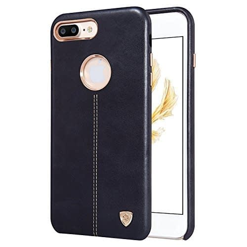 """NILLKIN Englon Series Leather Back Luxury Case Cover for Apple Iphone 7 Plus [5.5""""] - Black 1"""