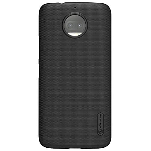 NILLKIN Frosted Shield Ultra Thin Hard Plastic Back Cover Case for Motorola Moto G5S Plus (5.5 inch)- Black 1