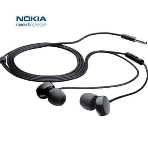 NOKIA STEREO EARPHONE HEADSET HANDSFREE WH-208 3.5MM FOR NOKIA LUMIA 800 900 920 820 720 620 520 525 510 610 710 625 630 1320 1020 1520 1