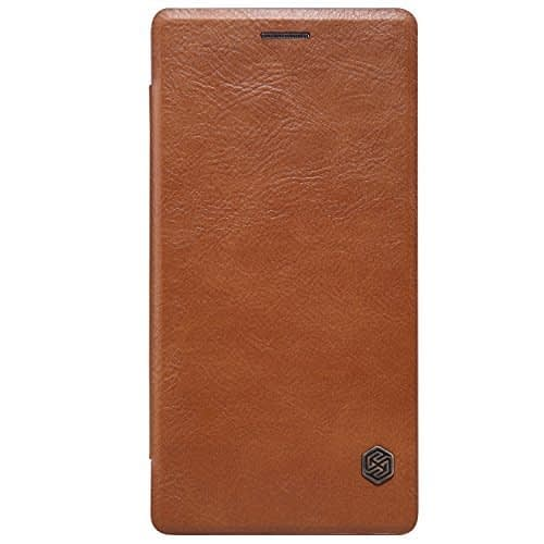 Nakoda Nillkin Qin leather case for Oneplus Two - Brown 1