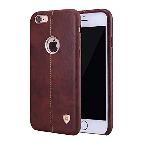 Nilkin Englon Leather Back Cover With Micro Fibre Lining for Apple iPhone 6 Plus (Brown) 1