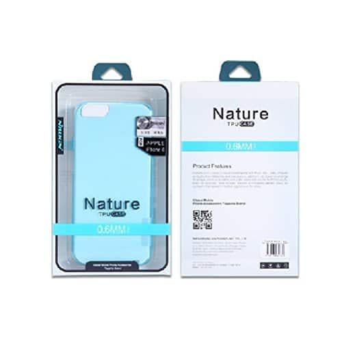 Nillkin 0.6Mm Nature Soft Tpu Flexible Back Cover Case For Apple Iphone 7 ( 4.7Inch )(Transparent:White) 5