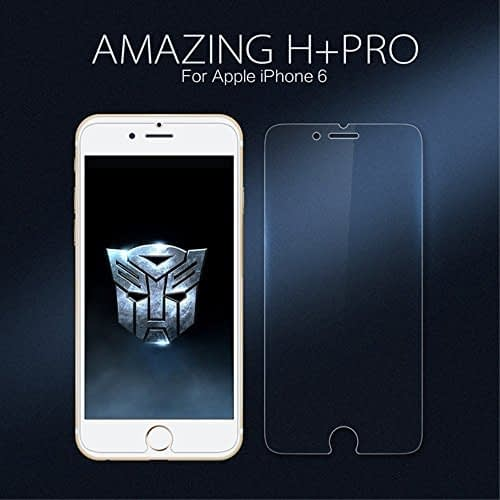 Nillkin Amazing H+ Pro 2.5D Arc Edge 9H Hardness Tempered Glass Screen Protector for Apple Iphone 6 (4.7inch) - Retail Packaging - Transparent 1