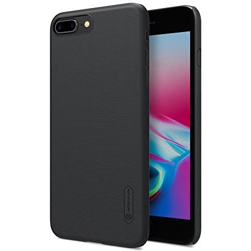 "Nillkin Case for Apple iPhone 8 Plus (5.5"" inch) Super Frosted Hard Back Cover Hard PC Black Color 1"