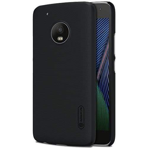 Nillkin Case for Motorola Moto G5 Plus Super Frosted Hard Back Cover Hard PC Black Color 1