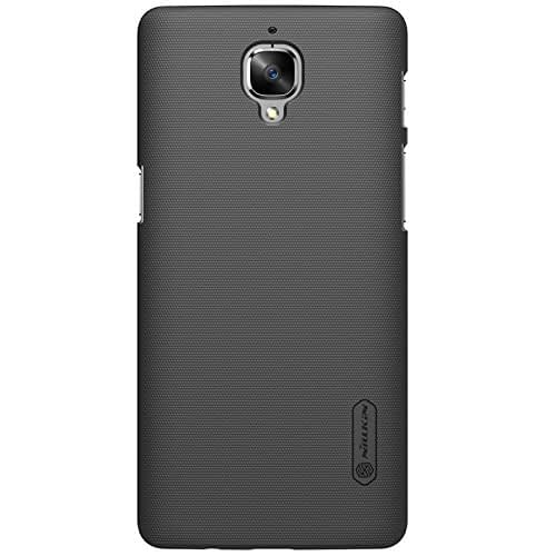 Nillkin Case for OnePlus 3T One Plus 3 T Super Frosted Hard Back Cover Hard PC Black 3