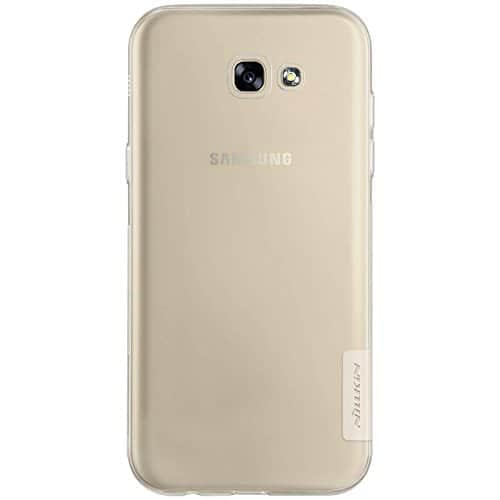 Nillkin Case for Samsung Galaxy A7 A 7 2017 Version Nature Series Back Soft Flexible TPU White Color 3