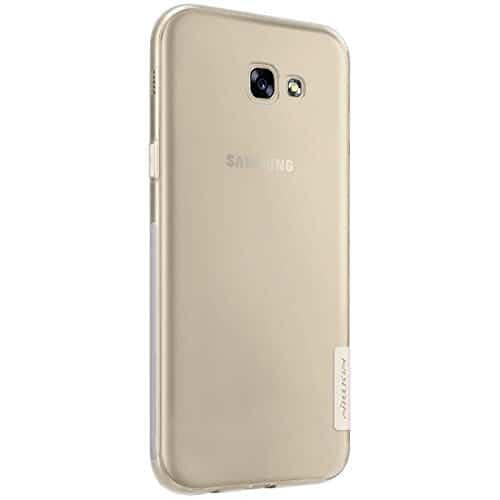 Nillkin Case for Samsung Galaxy A7 A 7 2017 Version Nature Series Back Soft Flexible TPU White Color 6