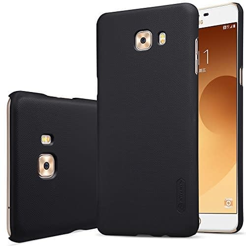 Nillkin Case for Samsung Galaxy C9 Pro Super Frosted Hard Back Cover Hard PC Black Color 1