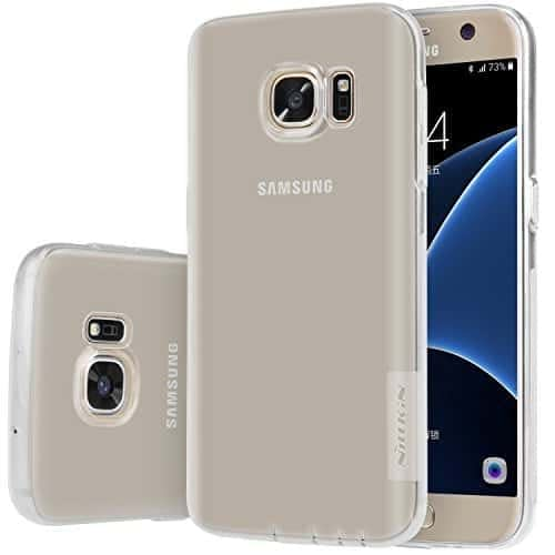 Nillkin Case of Samsung Galaxy S7 S 7 Nature Series Back Soft Flexible TPU White 1