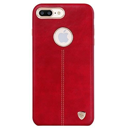 Nillkin Englon Leather Back Cover for Apple iPhone 7 plus- Red 1