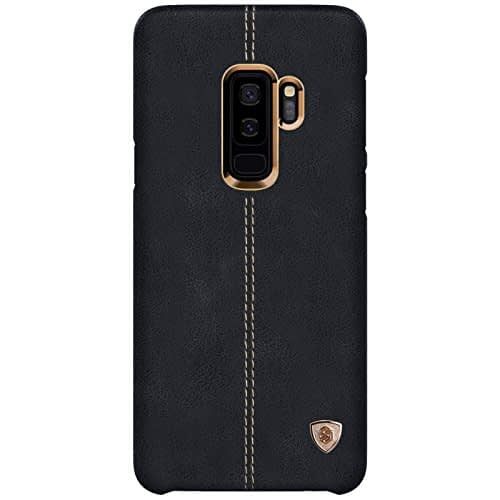 Nillkin Englon Series Leather Back Cover Case For Samsung Galaxy S9 Plus, Black 4
