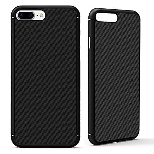 Nillkin ( For Apple Iphone 7 Plus ( 5.5 Inch ) ) Synthetic Fiber Carbon Material Texured Unique Style Back Case For Apple Iphone 7 Plus ( 5.5 Inch ) - Black 1