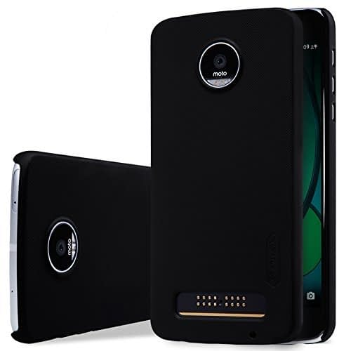 Nillkin Frosted Shield Hard Back Cover Case for Motorola Moto Z Play (5.5 inch)- Black 1
