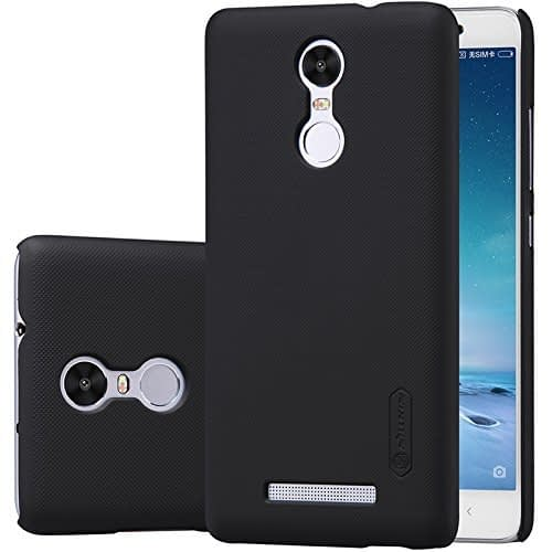 Nillkin Frosted Shield Slim Fit Back Case Cover for Xiaomi Redmi Note 3 (with Nillkin Screen protector) Black 1