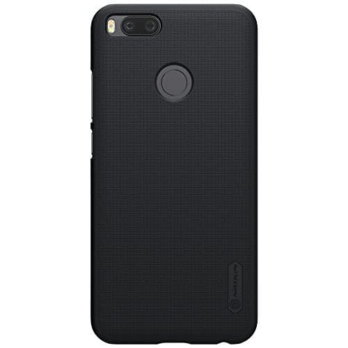 Nillkin Frosted Shield Ultra Thin Hard Plastic Back Cover Case For Xiaomi Mi A1 (5.5 inch)- Black 1