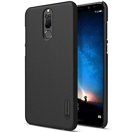 Nillkin Frosted Shield Ultra Thin Hard Plastic Back Cover Case for Huawei Honor 9i (5.9 inch)- Black 1