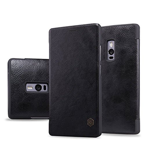 Nillkin Qin Leather Case For OnePlus 2 Black 1