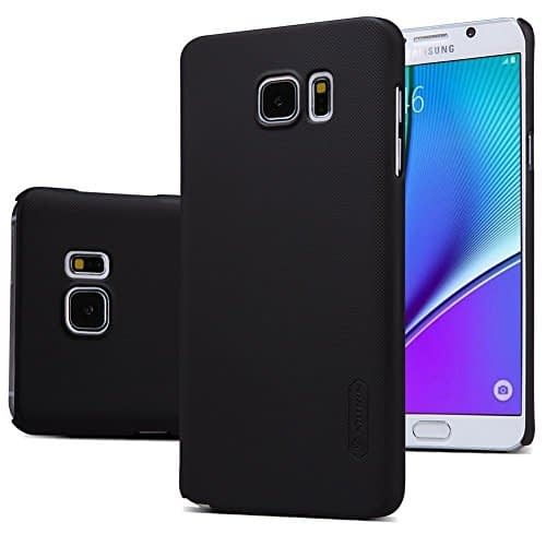 Nillkin Super Frosted Shield Back Cover Case for Samsung Galaxy Note 5 N920 (Black) 1