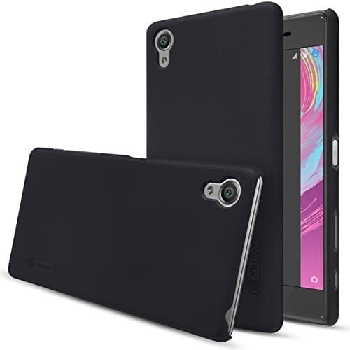 Nillkin Super Frosted Shield Case for Sony Xperia XZ - Retail Packaging - Black 3