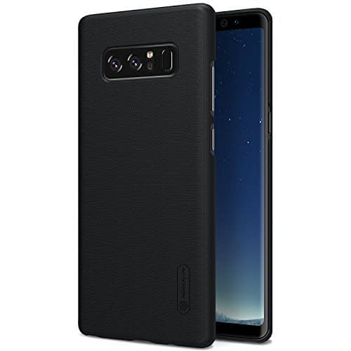 Nillkin Super Frosted Shield Hard Back Cover Case for Samsung Galaxy Note 8 - Black 1