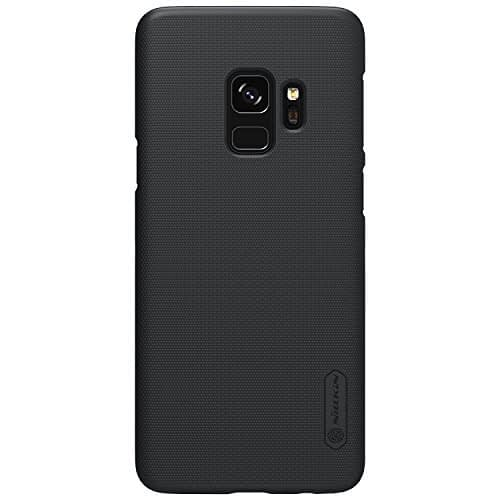 Nillkin Super Frosted Shield Hard Back Cover Case for Samsung Galaxy S9 - BLACK 1