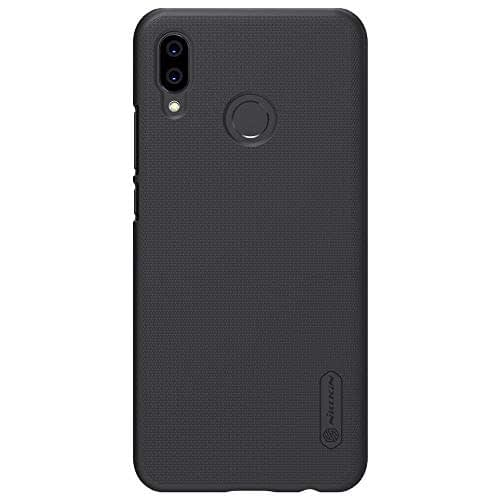 Nillkin Super Frosted Shield Hard Back Cover for Huawei P20 Lite(Black) 1