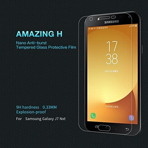 Nillkin Tempered Glass for Samsung Galaxy J7 Nxt Amazing H 9H Protect Explosion Proof Screen 1