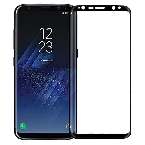 "Nillkin Tempered Glass for Samsung Galaxy S8 S 8 (5.8"" Inch) 3D CP+ Max Explosion Proof Screen Protect Full Screen Coverage Black Color 1"