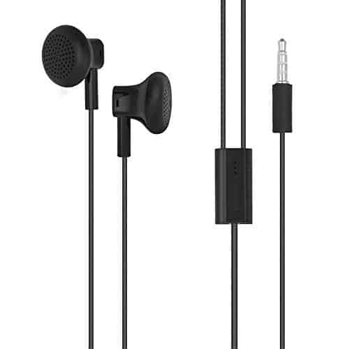 Nokia WH-108 Wired Headset Black 1