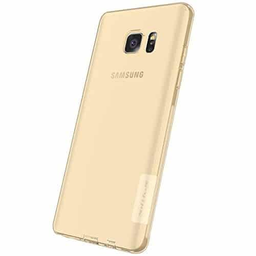 Original Nillkin 0.6MM Nature Soft TPU Back Cover Case for Samsung Galaxy Note 7 - ( Brown Color ) 1