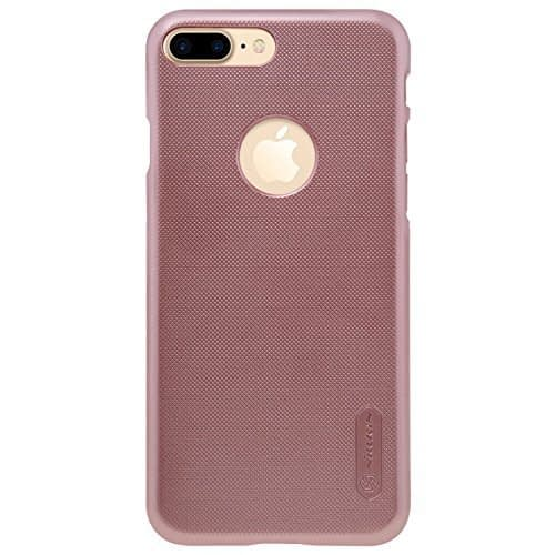 Original Nillkin Frosted Shield Hard Plastic Back Cover Case for Apple iPhone 7 Plus ( 5.5 inch ) ( Rose gold Color ) + Free Nillkin Screen Guard 1