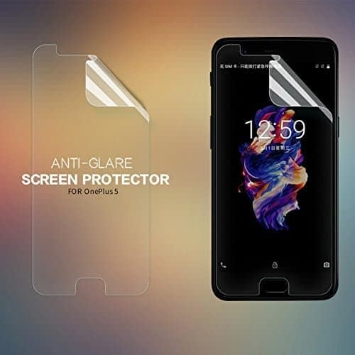 Original Nillkin Matte ANTI-GLARE Screen Guard / Scratch Protector for OnePlus 5 Five 1