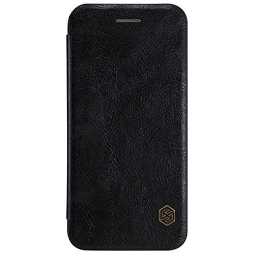 Original Nillkin Qin Leather Series Flip Case Cover For Apple iPhone 7 ( 4.7 inch ) ( Black Color ) 1