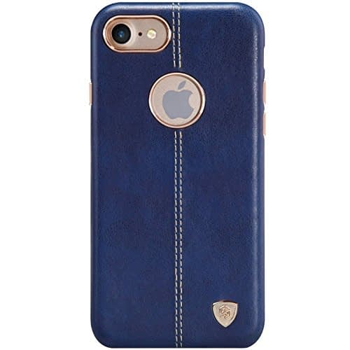 Original Nillkin [ for Apple iPhone 7 ( 4.7 inch ) ] Englon Series Leather Back Cover Case for Apple iPhone 7 ( 4.7 inch ) - ( Blue Color ) 1