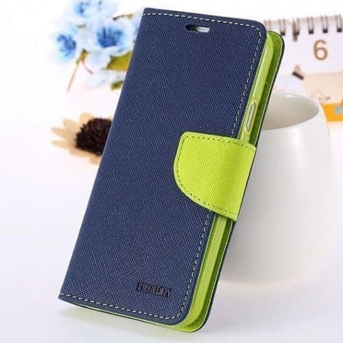 Pikimania Mercury Goospery Fancy Diary Wallet Case Cover for lenovo A5000 1